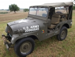 Willys M38A1 Jeep Army MD
