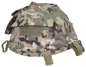 Mobile Preview: Helmet cover w pouches Helmbezug mit Taschen Operation camo Helm Tarnbezug