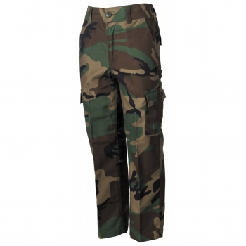 Kinderhose in Woodland US BDU