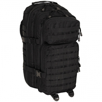 US Rucksack Assault I Basic in Schwarz