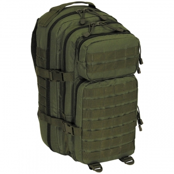 US Rucksack Assault I Basic in Oliv