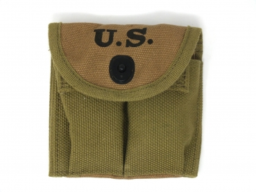US ARMY WW2 M1 Carbine Doppel Magazintasche für 2 Magazine pistol belt