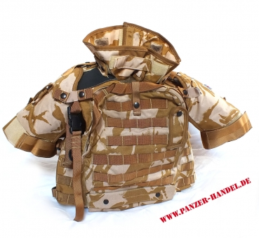 OSPREY WESTE tactical Vest Body Armour MK3 brit. DPM Desert NEU