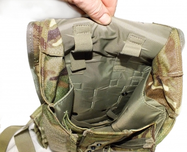 MTP Field Pack, Koppeltasche, Maskentasche  UK Multicam Bag Haversack