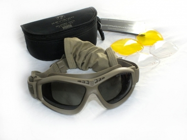 Revision Brille Bullet Ant Mission Kit tan UK Army MTP OCP