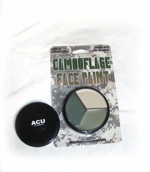 Original Army Tarnschminke, Paint Face camouflage in ACU