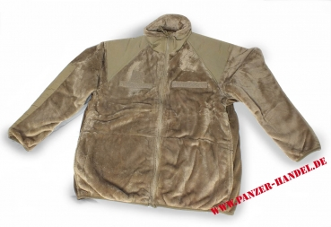 US Fleecejacke GEN-III ECWCS Level-3 Coyote OCP NEU