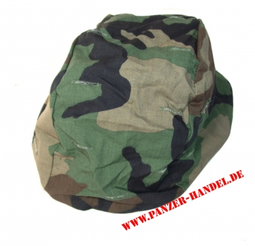 ORIGINAL ARMY COVER HELMET PASGT WOODLAND