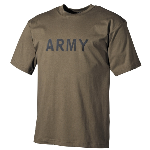 US Army T-Shirts Oliv