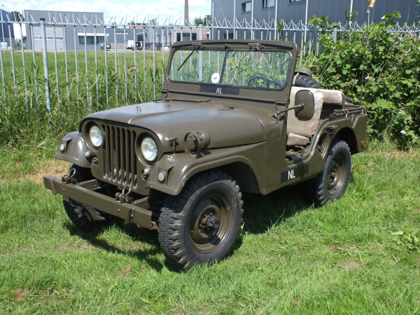 M38A1 Jeep willys CH121