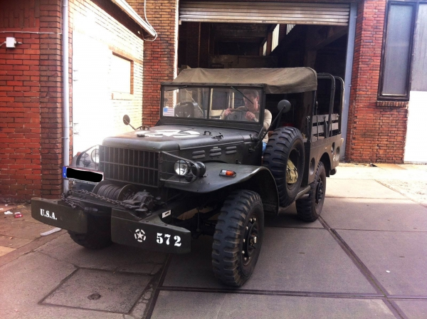 US Army WK2 Dodge WC52