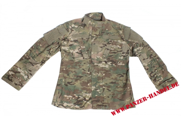 US Army Multicam OCP NyCo Combat Tactical ACU coat Jacke
