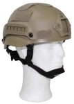US Helm FAST, Rails, coyote tan, Airsoft