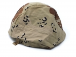 US Army PASGT 6 color Desert chocolate Helmet Tarnbezug